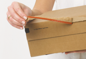 tear strip box
