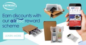 Airsac Reward Scheme Banner