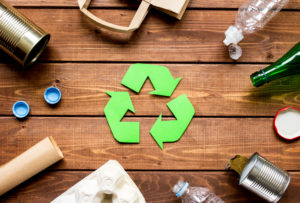 Packaging material recycling