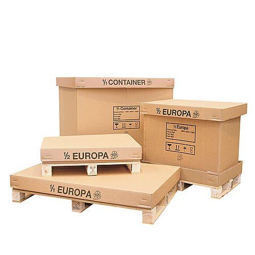 corrugated pallet box