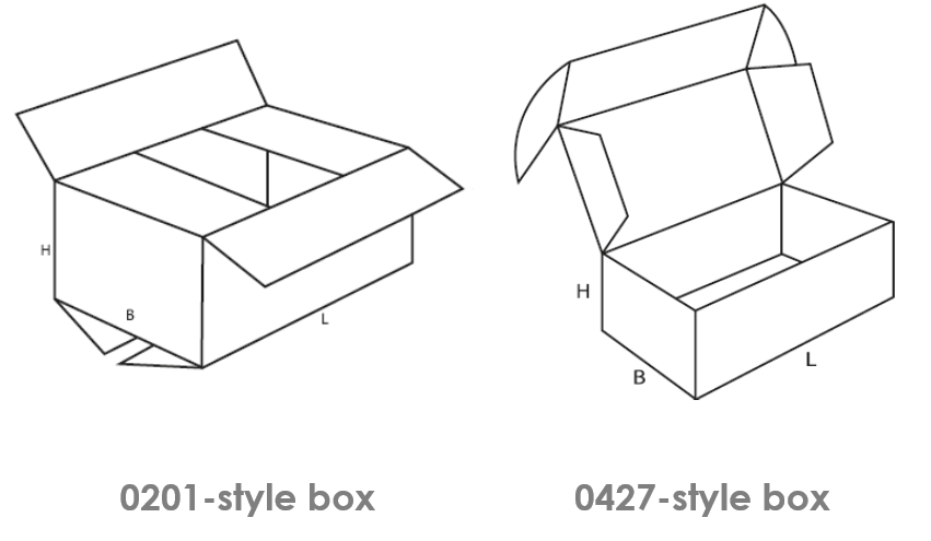 common box styles 0201 0427